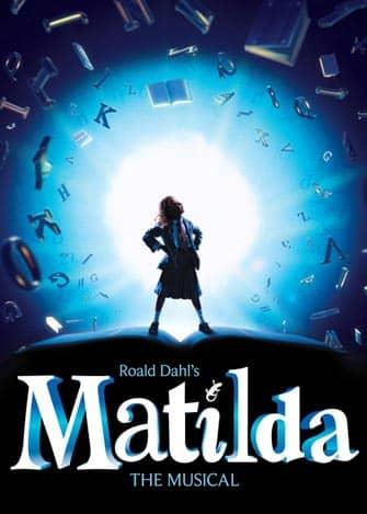 Broadway-musikaali Matilda New Yorkissa