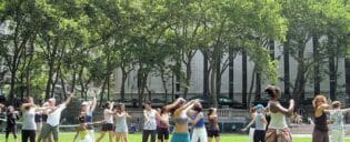 Ilmaisia tanssitunteja New Yorkissa