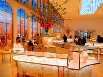 Tiffany & Co. New York - Näytillä