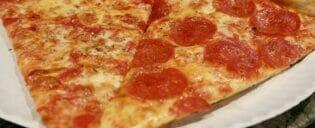 Paras pizza New Yorkissa