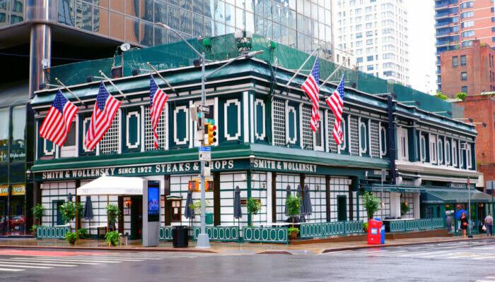 Paras pihviravintola New Yorkissa - Smith and Wollensky