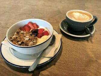 Aamiainen New Yorkissa - Terveellinen aamiainen
