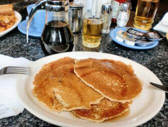 Aamiainen New Yorkissa - Pannukakkuaamiainen