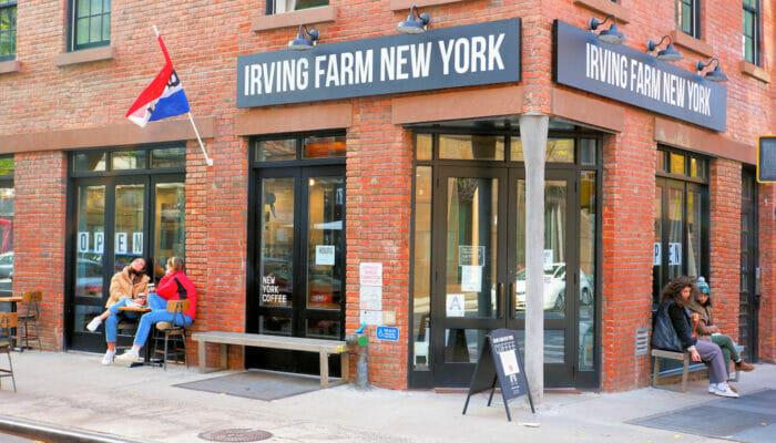 Parhaat kahvilat ja bagelit New Yorkissa - Irving Farm New Yorkissa