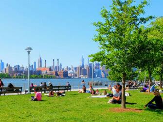 Puistot New York - Domino Park