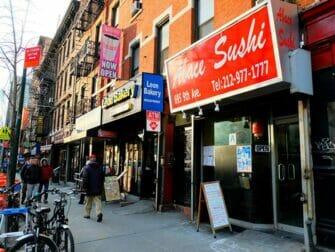 Sushi New Yorkissa - Abace Sushi