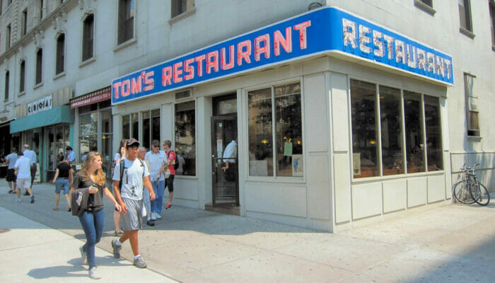 Aamiainen New Yorkissa - Toms Restaurant New York