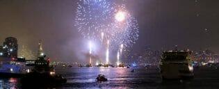 4th of July -itsenäisyyspäivä New Yorkissa