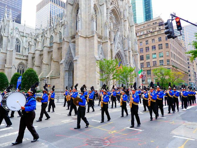 Kolumbuksen päivä New Yorkissa - Orkesteri