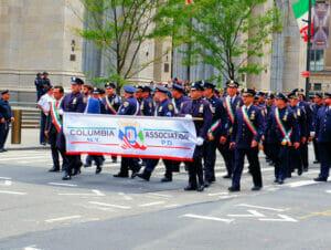 Kolumbuksen päivä New Yorkissa - Columbia Association