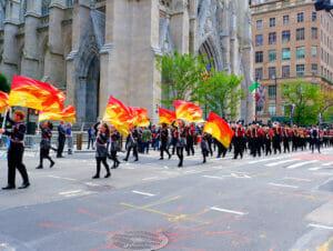 Kolumbuksen päivä New Yorkissa - Paraati