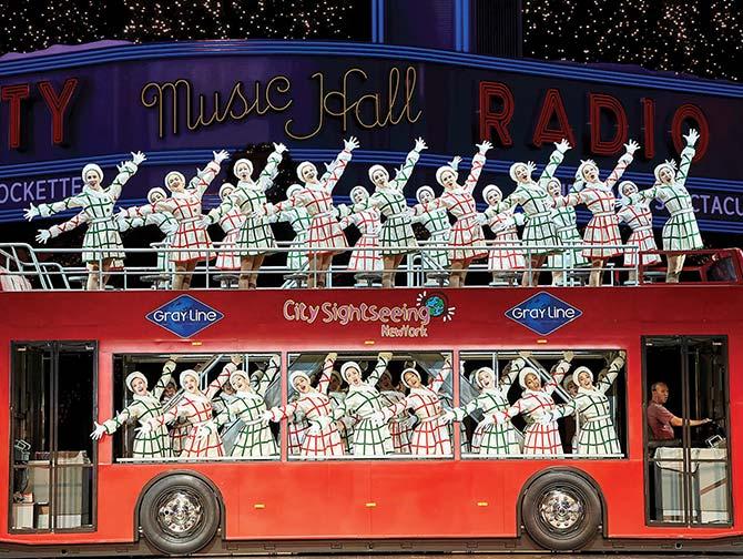 Radio City Christmas Spectacular -liput - Kiertoajelulla