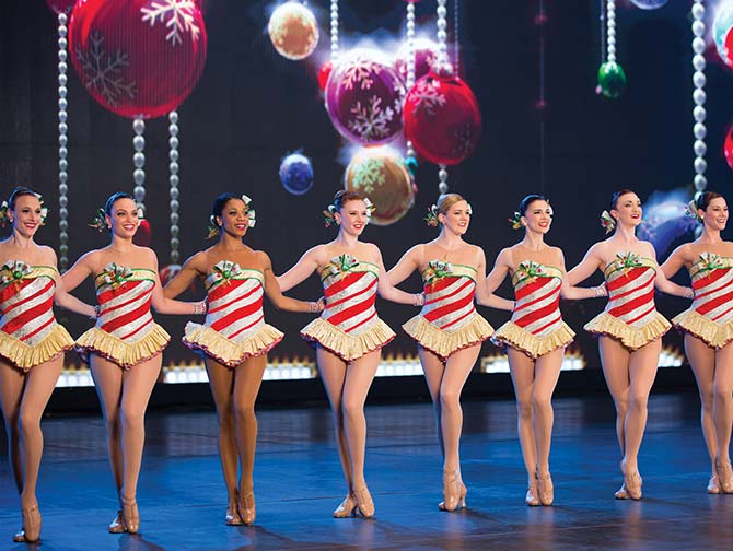 Radio City Christmas Spectacular -liput - Rockettes-tanssijat
