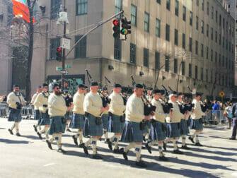 St Patricks Day -paraati New Yorkissa