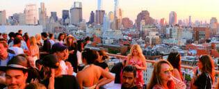 New Yorkin parhaat kattoterassibaarit