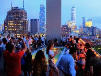 New Yorkin parhaat kattoterassibaarit - Jimmy