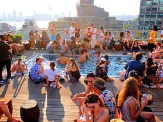 New Yorkin parhaat kattoterassibaarit - Allas