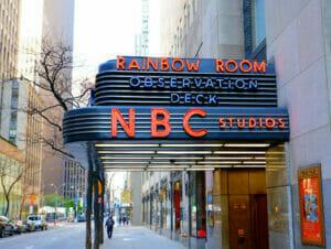 Nbc studios new yorkissa