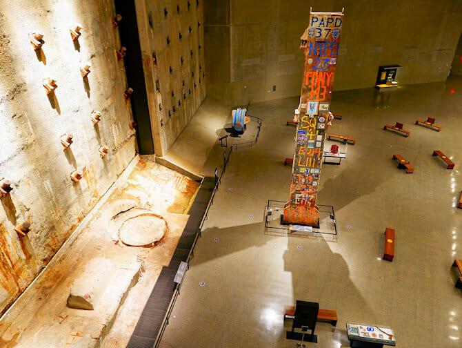 9/11-museo New Yorkissa - sisalta