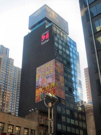 citizenM Times Square hotelli New York City