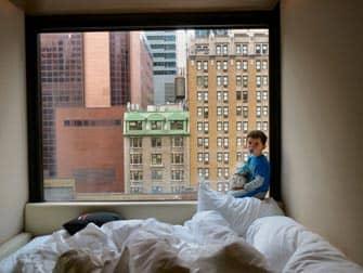 citizenM Times Square hotellin nakymia