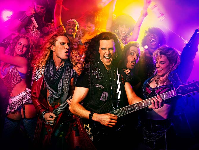 Rock of Ages the Musical in New York -liput - Rokkibändi