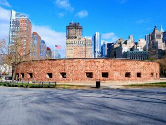 Vapaudenpatsas-risteilyt Lower Manhattanilla New Yorkissa