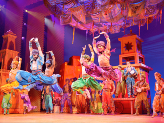 Aladdin Broadway-liput - Arabian yöt