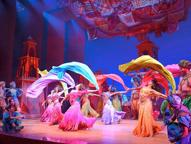 Aladdin Broadway-liput - Tanssia