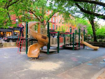 Bleeckerstreet-leikkipuisto New Yorkissa