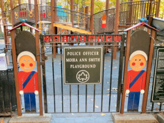Madison Square Park -leikkipuisto New Yorkissa