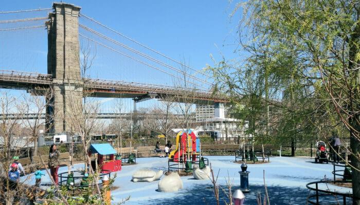 Leikkipuistot New Yorkissa - Pier 1 -leikkipuisto