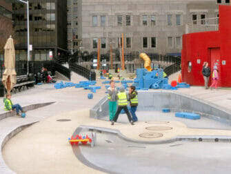 South Street Seaport -leikkipuisto New Yorkissa