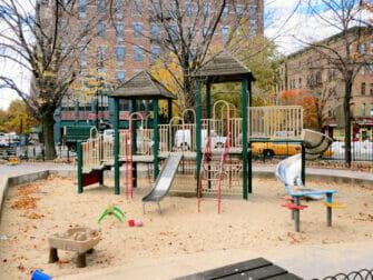 Bleeckerstreetin leikkipuisto New Yorkissa