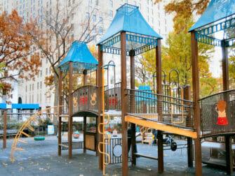 Madison Square Parkin leikkipuisto New Yorkissa
