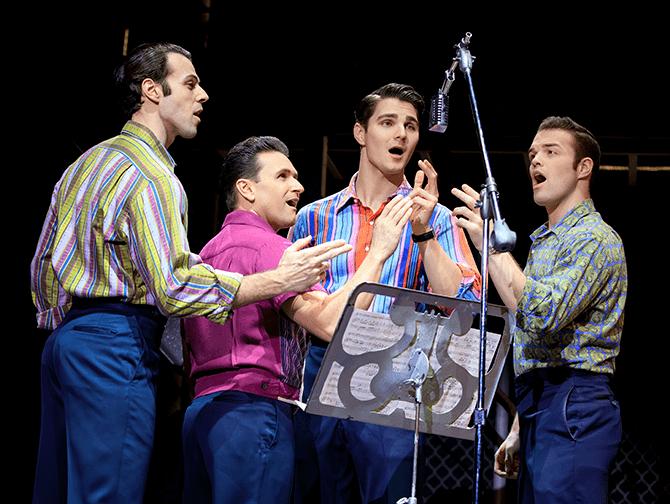Jersey Boys -liput New Yorkissa - Frankie Valli ja Four Seasons