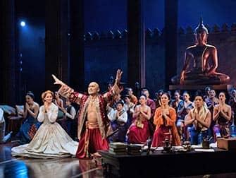 The King and I Broadway-liput - Näyttelijät