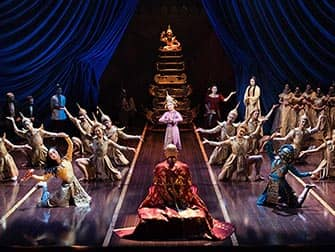 King and I Broadway-musikaali - esitys