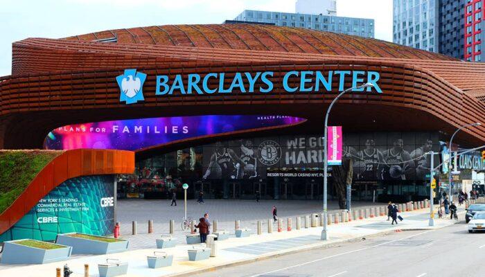 Brooklyn Nets -liput - Barclays Center