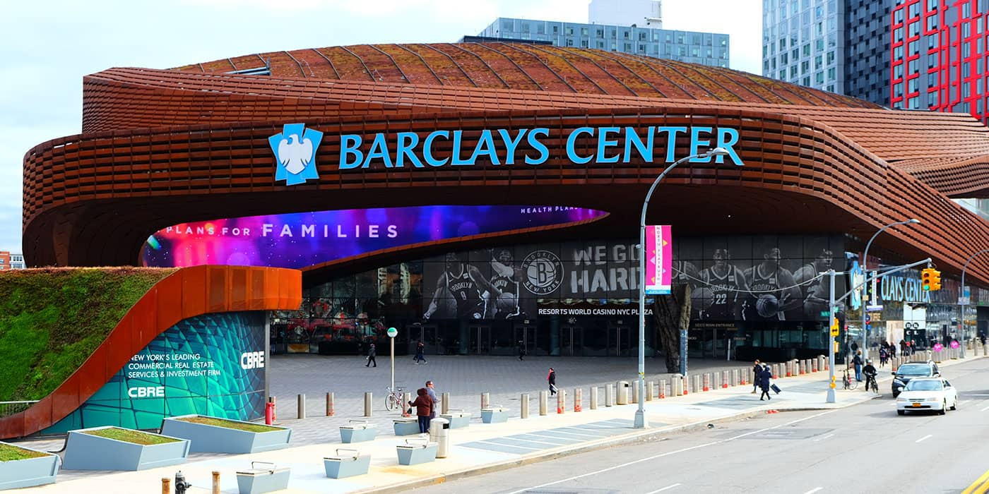 Brooklyn Nets -liput - Barclay's Center