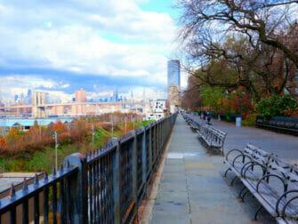 Opastettu kierros Brooklynissa - Brooklyn Heights Promenade