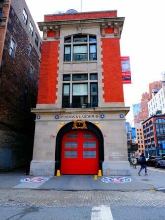 New York tv- ja elokuvakierros - Ghostbusters
