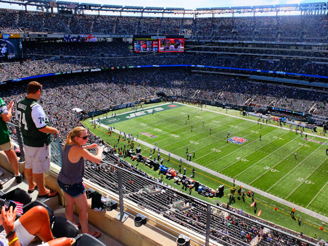 New York Jets -liput