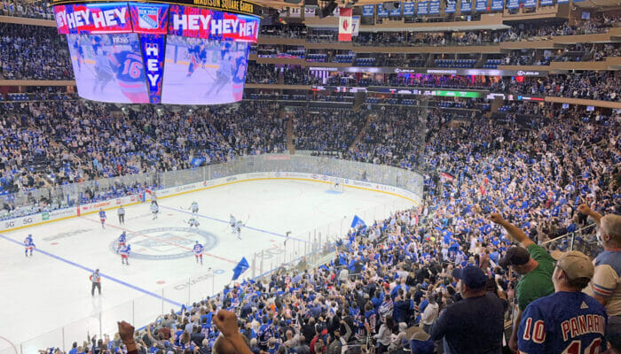 New York Rangers -liput - Madison Square Garden