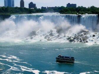 New Yorkista Niagaran putouksille 2-paivan matka - risteily
