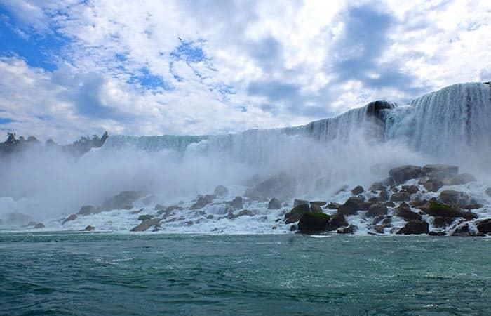 New Yorkista Niagaran putouksille 2-paivan matka - Horseshoe Falls