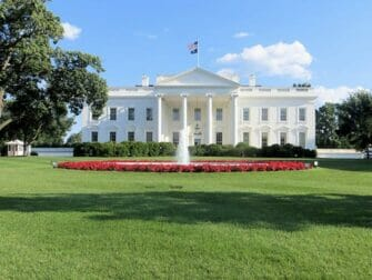 Washington DC päivämatka - Valkoinen talo