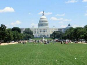 Washington DC paivareissu New Yorkista