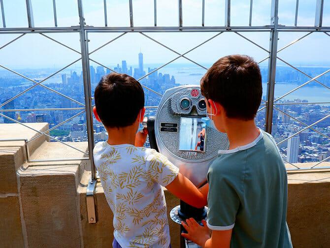 Mitä tehdä lasten kanssa New Yorkissa