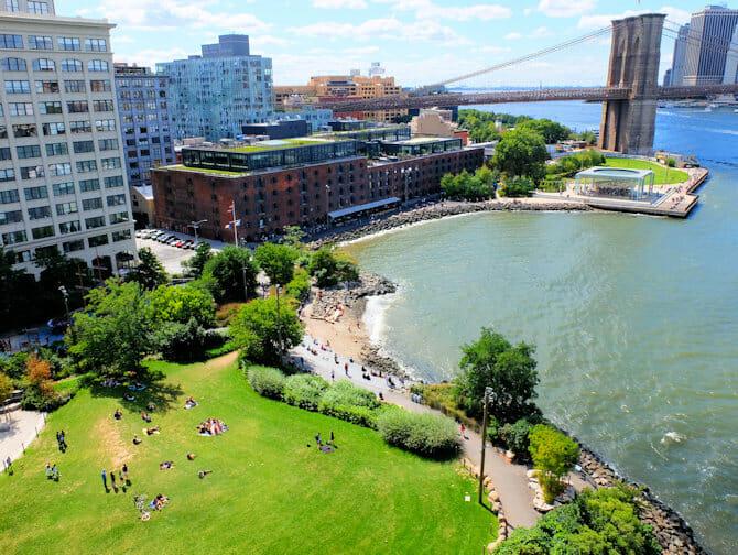 Brooklyn Bridge Park New Yorkissa